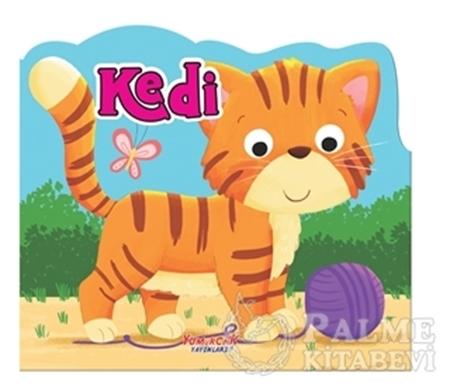 Resim Kedi - Şekilli Kitap