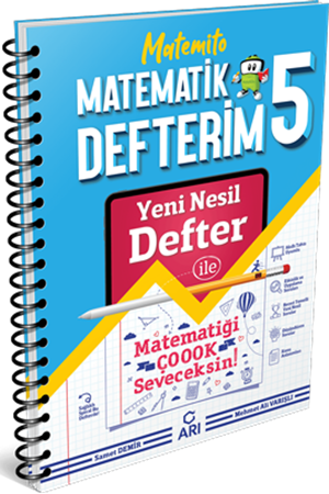 Resim 5.Sınıf Matemito Matematik Defterim