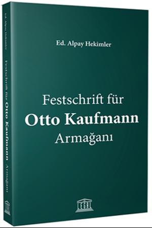Resim Festschrift für Otto Kaufmann Armağanı