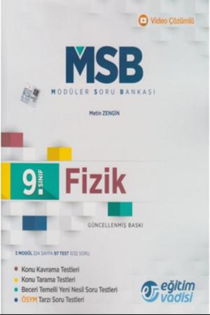 Resim 9. Sınıf Fizik MSB Modüler Soru Bankası