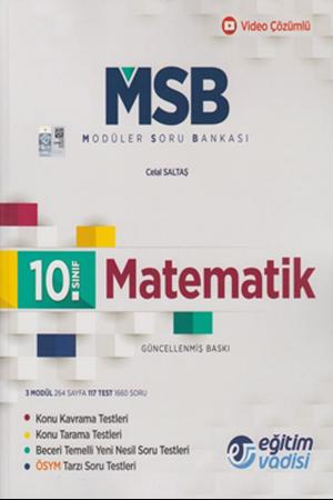 Resim 10. Sınıf Matematik Güncel MSB Modüler Soru Bankası