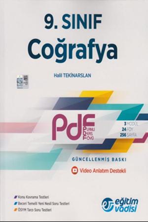 Resim 9. Sınıf Coğrafya Güncel PDF Planlı Ders Föyü