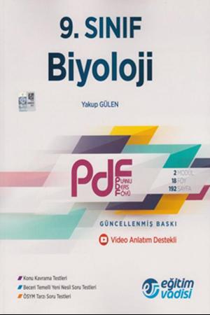 Resim 9. Sınıf Biyoloji Güncel PDF Planlı Ders Föyü