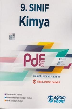 Resim 9. Sınıf Kimya Güncel PDF Planlı Ders Föyü