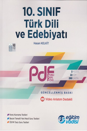 Resim 10. Sınıf Türk Dili ve Edebiyatı Güncel PDF Planlı Ders Föyü