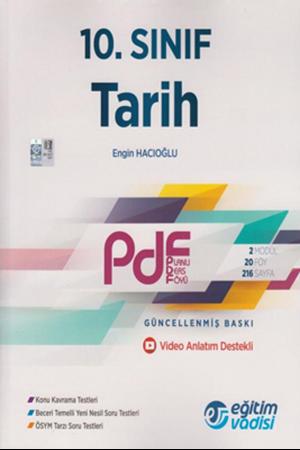 Resim 10. Sınıf Tarih Güncel PDF Planlı Ders Föyü