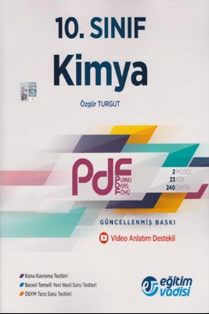 Resim 10. Sınıf Kimya Güncel PDF Planlı Ders Föyü