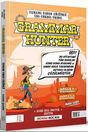 Resim YDS YÖKDİL YDT Grammar Hunter Tamamı Çözümlü Soru Bankası