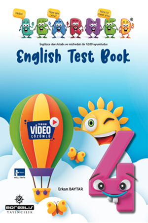Resim 4. Sınıf English Test Book