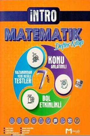 Resim 7. Sınıf Matematik İntro Defter Kitap