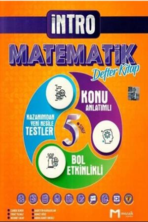 Resim 5. Sınıf Matematik İntro Defter Kitap