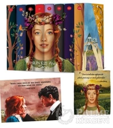 Resim Yeşilin Kızı Anne Seti (8 Kitap Takım Ciltli - Kutulu)
