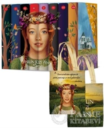 Resim Yeşilin Kızı Anne Karton Kutulu Set (8 Kitap Takım)
