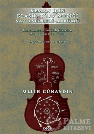 Resim Keman İçin Klasik Türk Müziği Saz Eserleri Albümü