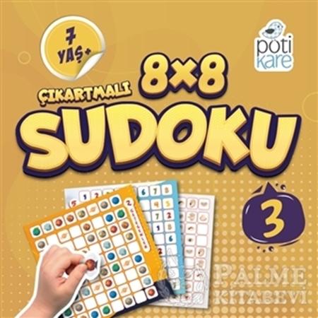 Resim 8x8 Çıkartmalı Sudoku 3