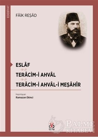 Resim Eslaf - Teracim-i Ahval - Tercim-i Ahval-ı Meşahir