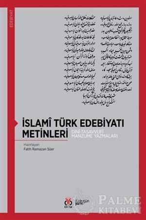 Resim İslami Türk Edebiyatı Metinleri