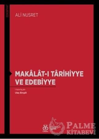 Resim Makalat-ı Tarihiyye ve Edebiyye