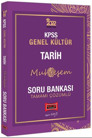 Resim 2022 KPSS Genel Kültür Muhteşem Tarih Tamamı Çözümlü Soru Bankası