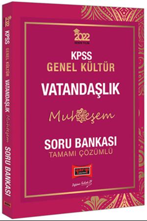 Resim 2022 KPSS Genel Kültür Muhteşem Vatandaşlık Tamamı Çözümlü Soru Bankası