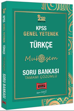Resim 2022 KPSS Genel Yetenek Muhteşem Türkçe Tamamı Çözümlü Soru Bankası