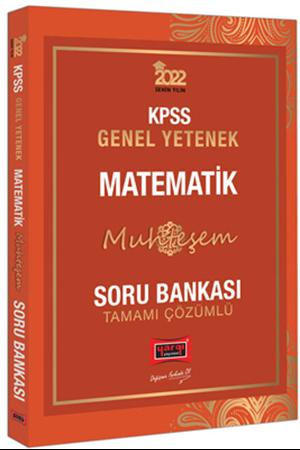 Resim 2022 KPSS Genel Yetenek Muhteşem Matematik Tamamı Çözümlü Soru Bankası
