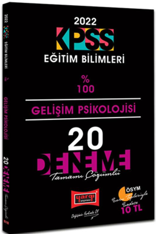 resm 2022 KPSS Eğitim Bilimleri Gelişim Psikolojisi Tamamı Çözümlü 20 Deneme