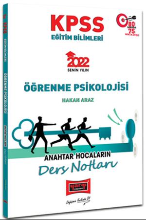 Resim 2022 KPSS Eğitim Bilimleri Öğrenme Psikolojisi Anahtar Hocaların Ders Notları