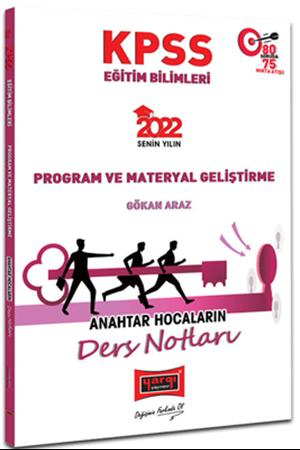 Resim 2022 KPSS Eğitim Bilimleri Program ve Materyal Geliştirme Anahtar Hocaların Ders Notları