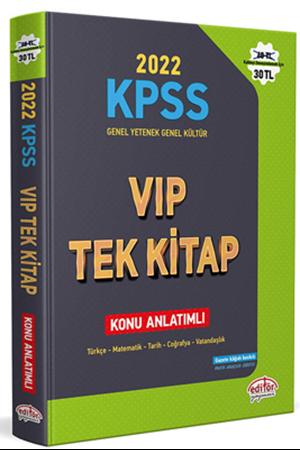 Resim KPSS Genel Yetenek Genel Kültür VİP Tek Kitap Konu Anlatımlı