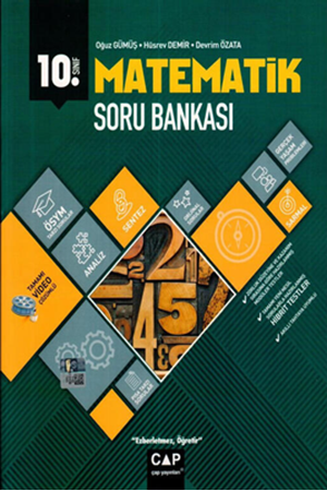 Resim 10. Sınıf Matematik Anadolu Soru Bankası
