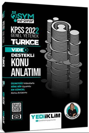 Resim 2022 KPSS Genel Yetenek ÖSYM Ne Sorar Türkçe Video Destekli Konu Anlatımı
