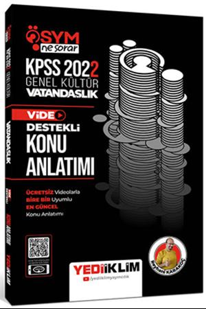 Resim 2022 KPSS Genel Kültür ÖSYM Ne Sorar Vatandaşlık Video Destekli Konu Anlatımı