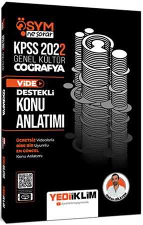 Resim 2022 KPSS Genel Kültür ÖSYM Ne Sorar Coğrafya Video Destekli Konu Anlatımı
