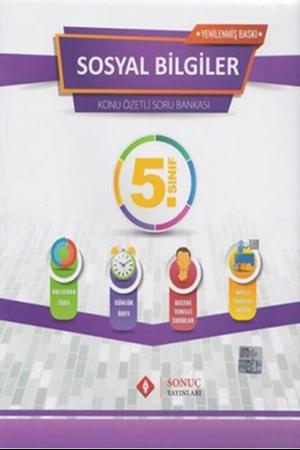Resim 5. Sınıf Sosyal Bilgiler Kazanım Merkezli Soru Bankası Seti