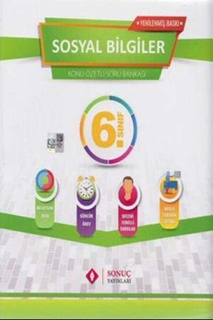 Resim 6. Sınıf Sosyal Bilgiler Kazanım Merkezli Soru Bankası Seti