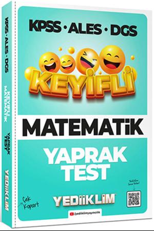 Resim KPSS ALES DGS Keyifli Matematik Tamamı Çözümlü Çek Kopart Yaprak Test