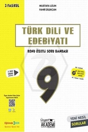 Resim 9. Sınıf Lise Türk Dili ve Edebiyatı Konu Özetli Soru Bankası 3 Fasikül