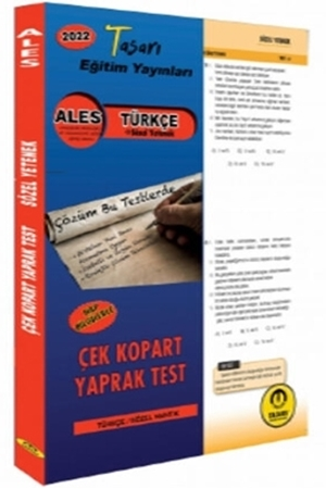 Resim 2022 ALES Türkçe Yaprak Test