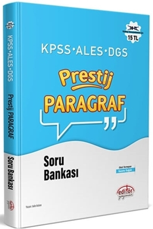 Resim KPSS ALES DGS Prestij Paragraf Soru Bankası