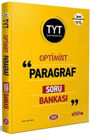 Resim TYT Optimist Paragraf Soru Bankası