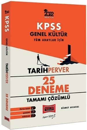 Resim 2022 KPSS Genel Kültür TarihPerver Tamamı Çözümlü 25 Deneme