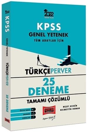 Resim 2022 KPSS Genel Yetenek TürkçePerver Tamamı Çözümlü 25 Deneme