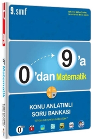Resim 9. Sınıf 0 dan 9 a Matematik Konu Anlatımlı Soru Bankası