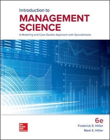 Resim Connect Online Access For Hillier Introduction To Management Science 6e