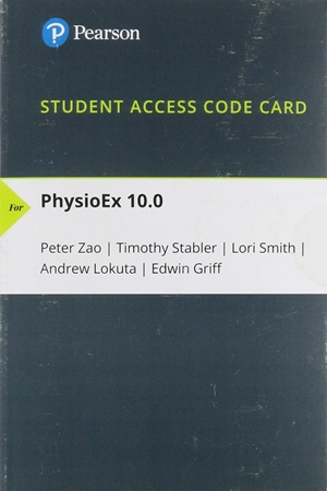 Resim Access Card for PhysioEx 10.0 Laboratory Simulations in Physiology